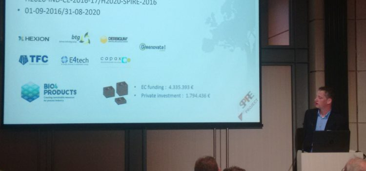 Bio4Products presented at SPIRE Conference