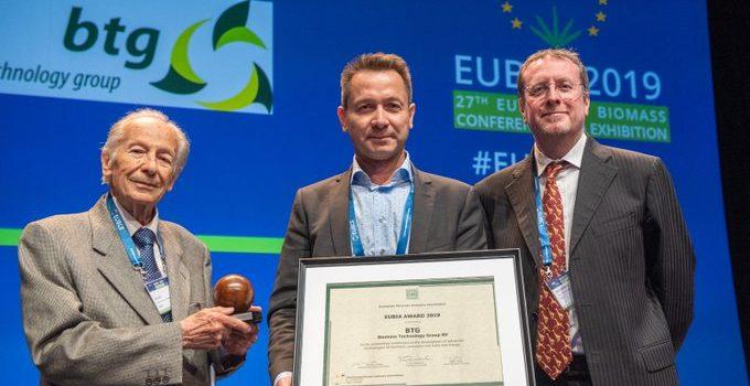 BTG wins EUBIA annual prize