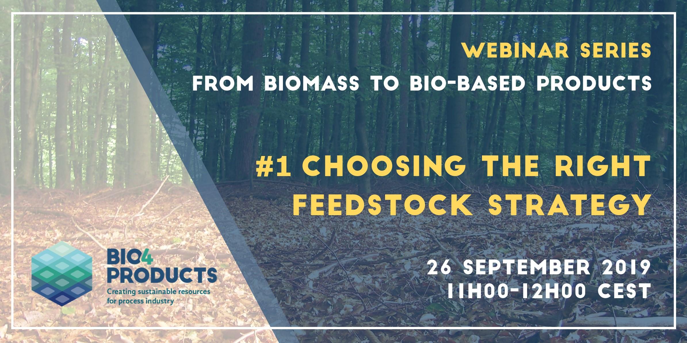 Join our webinar on feedstock strategies!