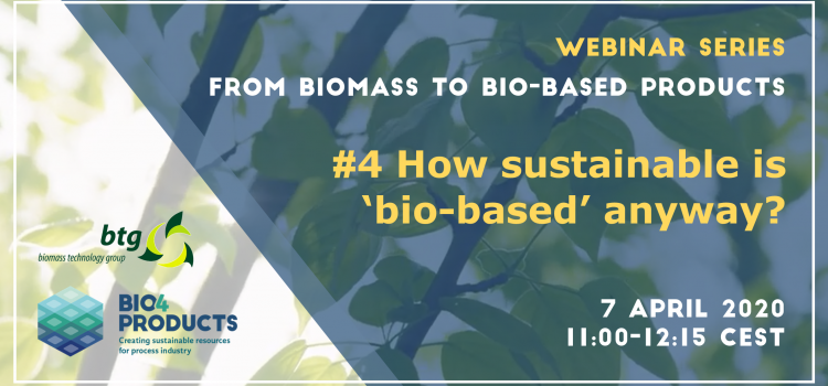 Join our final webinar on sustainability!